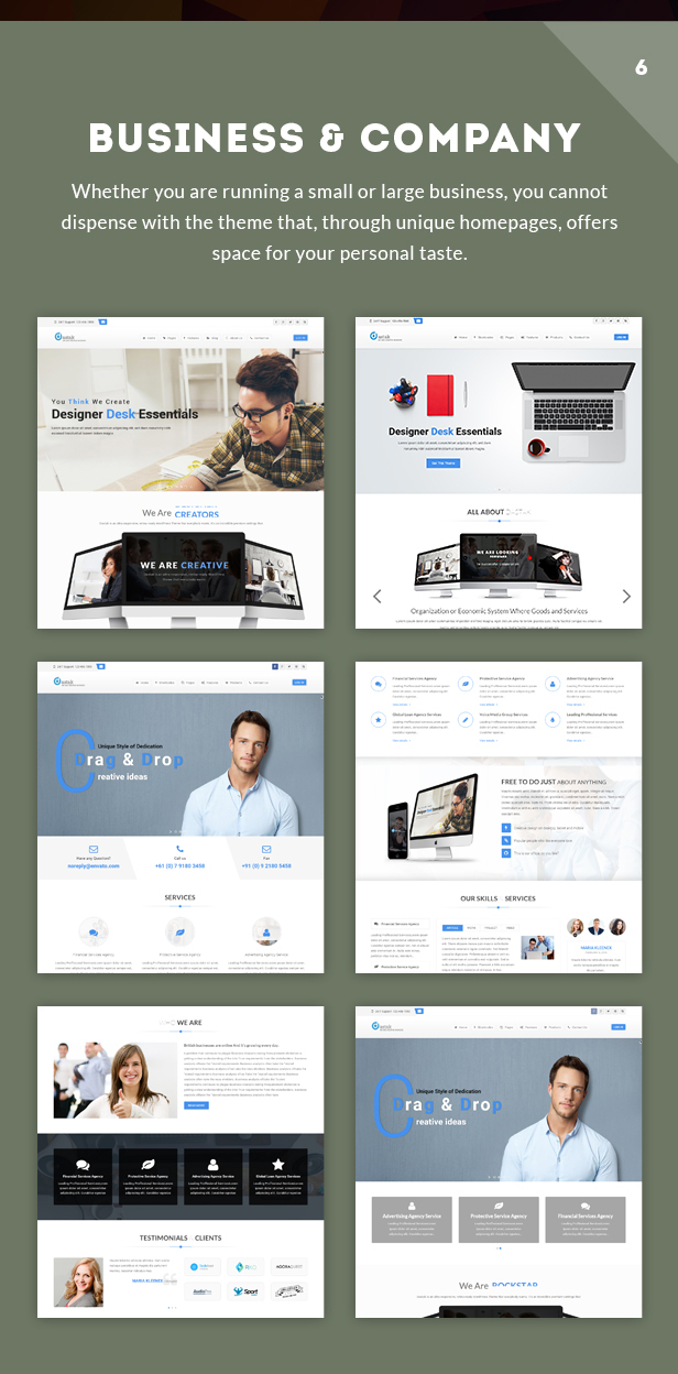dastak Multipurpose WordPress Theme