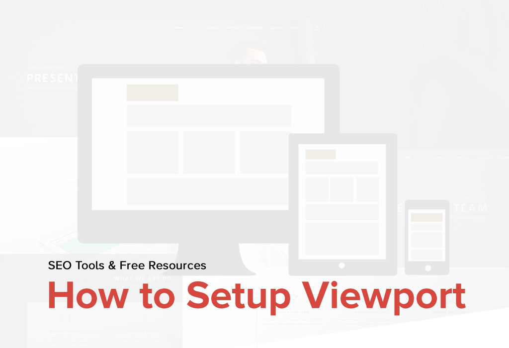 Setup Viewport Pages