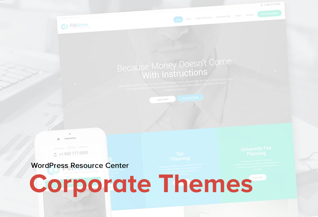 20 Best Business & Services WordPress Themes for a Successful Venture