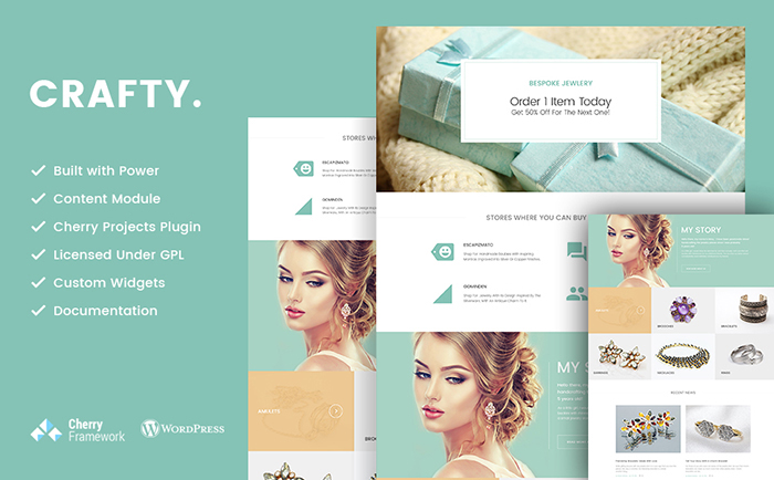 Jewelry WordPress Template