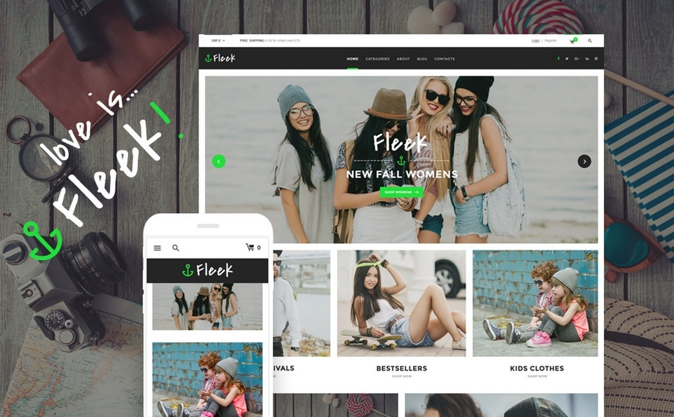 Fleek Growth Hack Theme