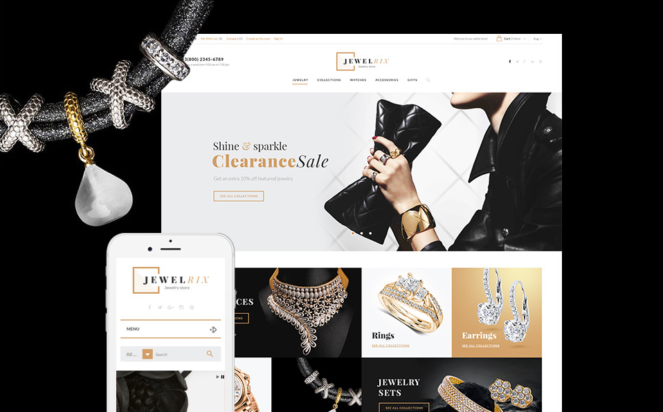 Jewelrix Growth Hack Theme