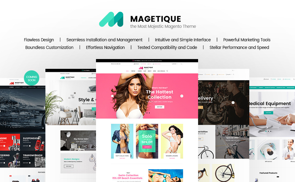 Magetique Growth Hack Theme