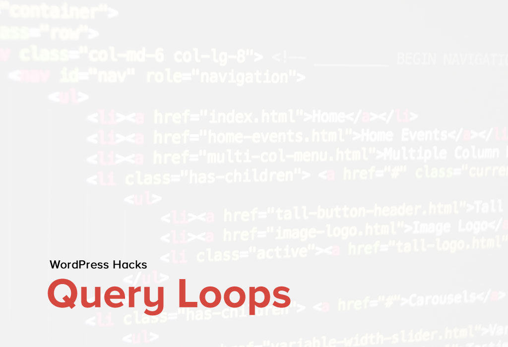 Query Loops for WordPress