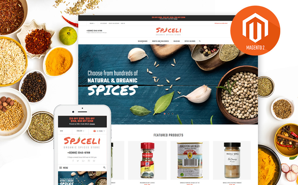 Spiceli Growth Hack Theme