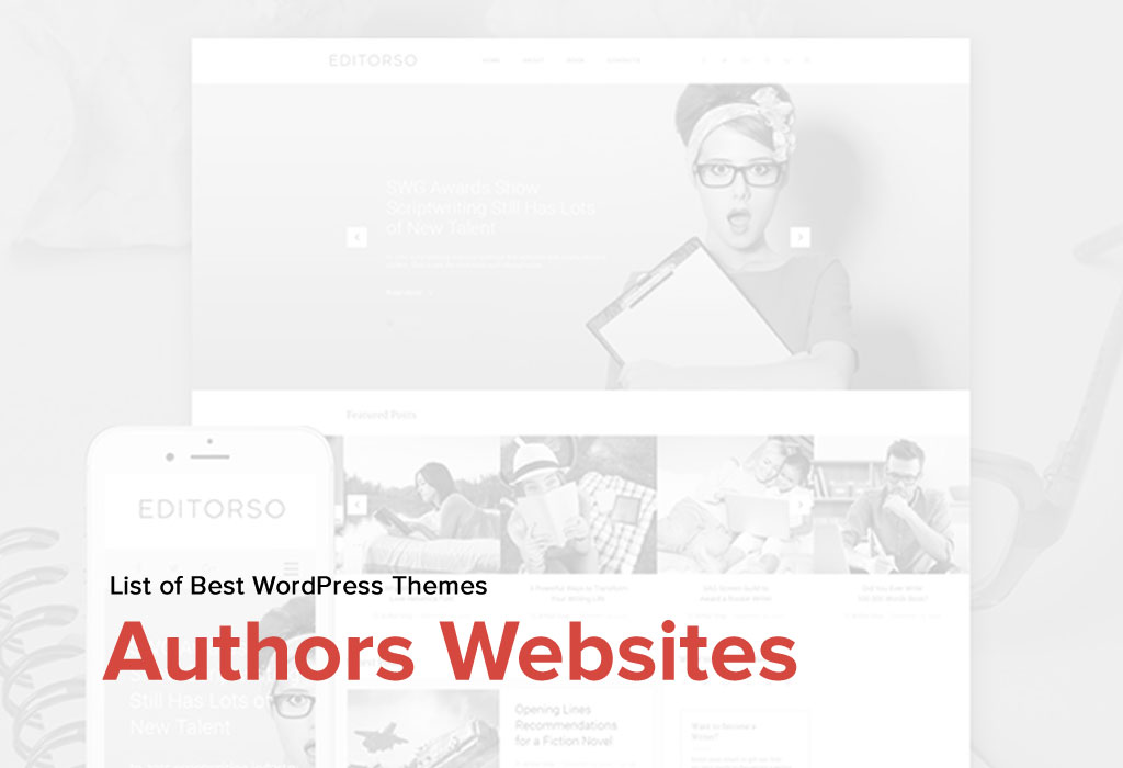 Meet Top 5 Authors Websites Specially for You