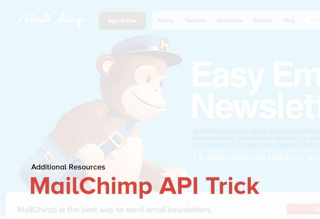 How to subscribe user details using mailchimp API?
