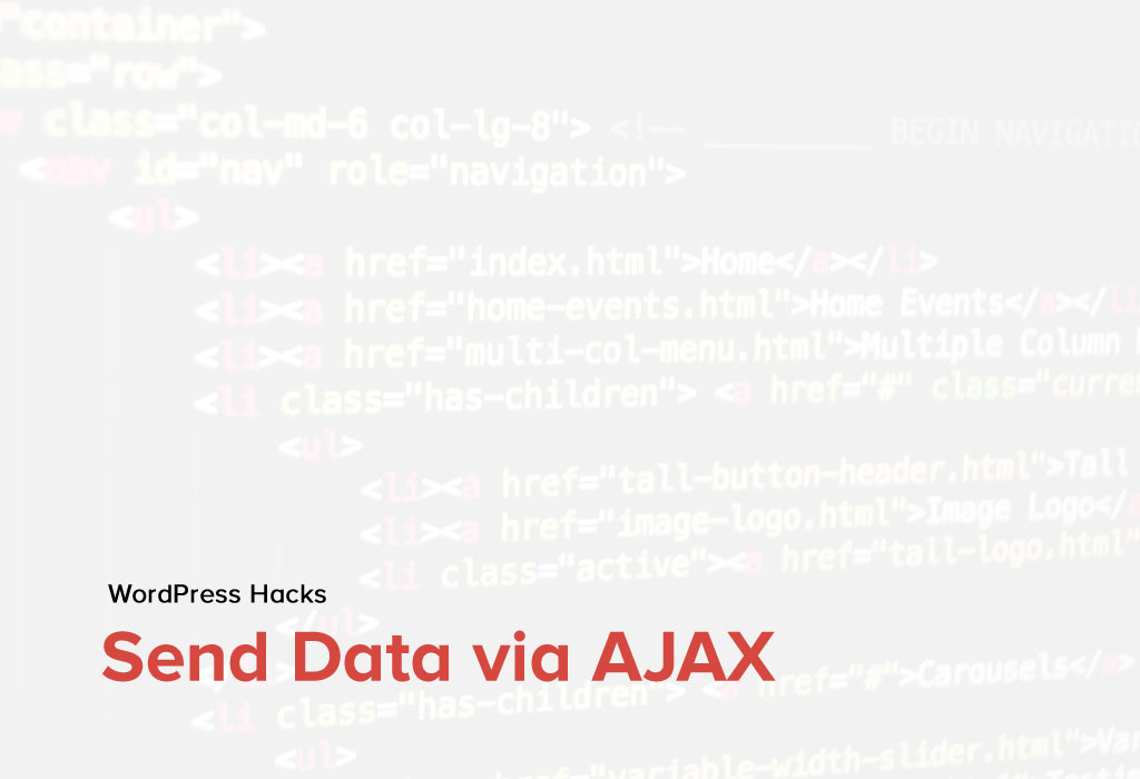 How to send data via AJAX from frontend to backend in WordPress Plugin?