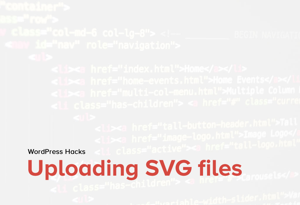 How to upload SVG files to WordPress Media Section?